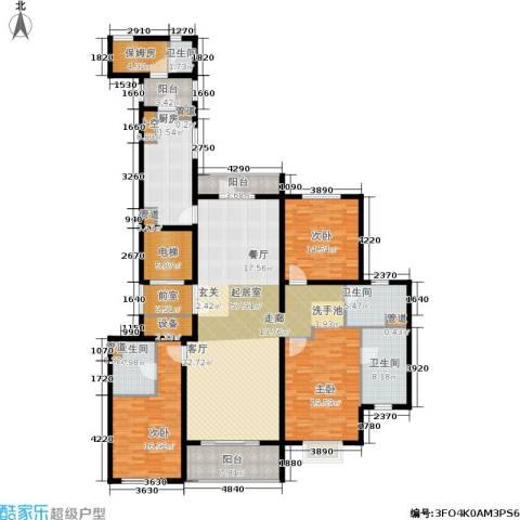 唯美尚品3室0厅4卫1厨198.00㎡户型图