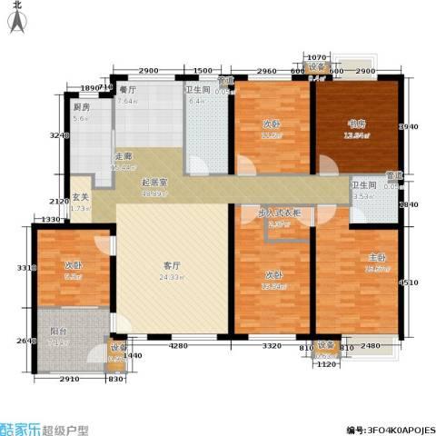 唯美尚品5室0厅2卫1厨172.00㎡户型图