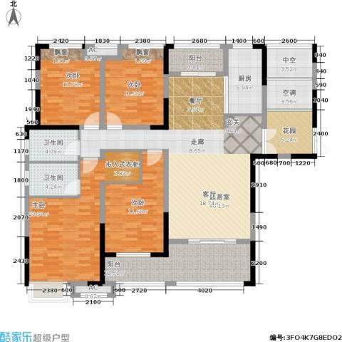 中盛圣地亚哥4室0厅2卫1厨201.00㎡户型图