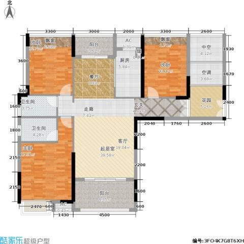 中盛圣地亚哥3室0厅2卫1厨175.00㎡户型图