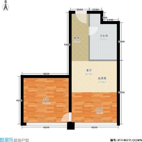 HELLO广场1室0厅1卫0厨71.00㎡户型图