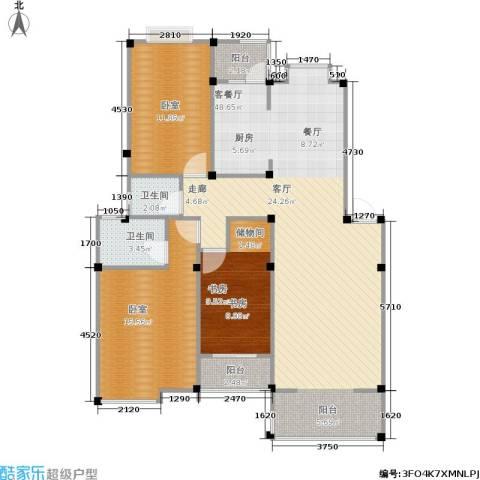 瀛洲湾花园1室1厅2卫0厨103.00㎡户型图