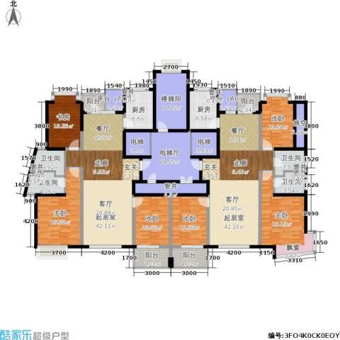 新城国际6室0厅4卫2厨248.59㎡户型图