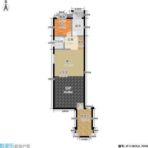 世纪春天1室0厅1卫1厨241.00㎡户型图