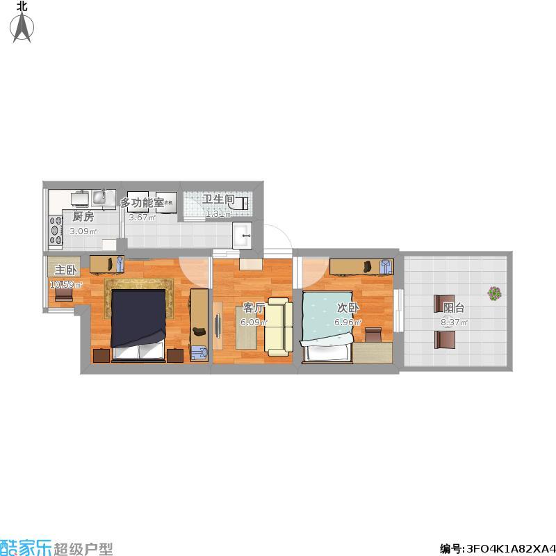中山路两室一厅