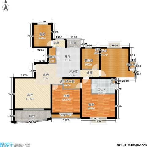 城市艺术季2室0厅2卫1厨134.00㎡户型图