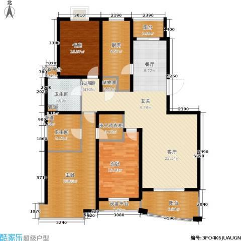 城市艺术季3室0厅2卫1厨134.00㎡户型图