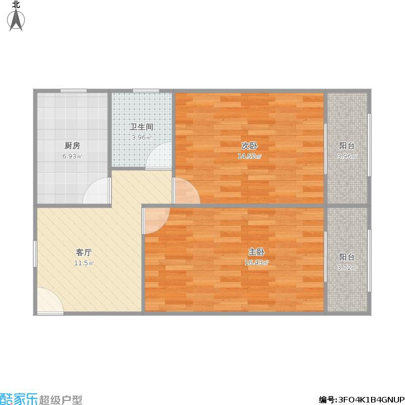 宜川五村的户型图