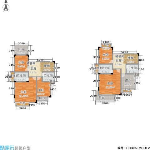 归心苑5室0厅4卫0厨250.00㎡户型图