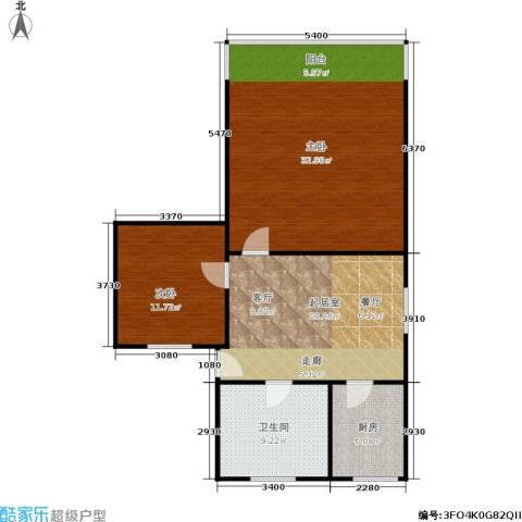 中兴公寓2室0厅1卫1厨80.27㎡户型图