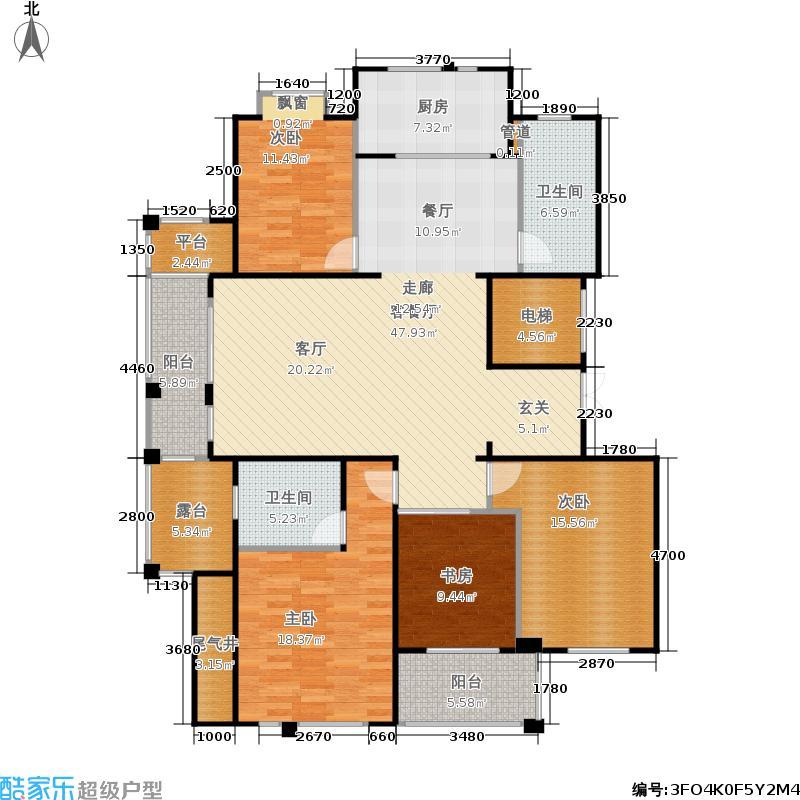 大美公寓l户型