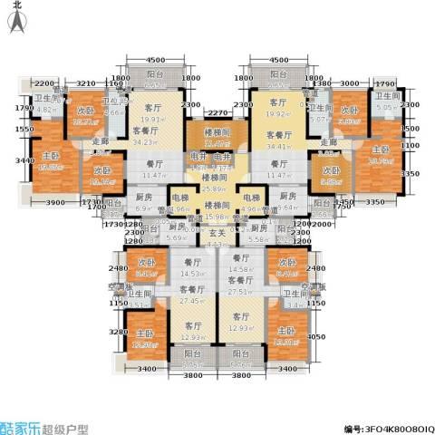 恒大绿洲9室4厅6卫4厨375.94㎡户型图