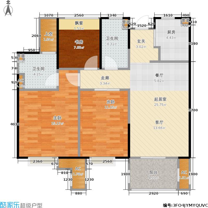 天阳尚城国际89.00㎡户型