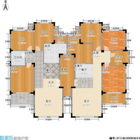 洛卡小镇6室1厅2卫2厨258.46㎡户型图