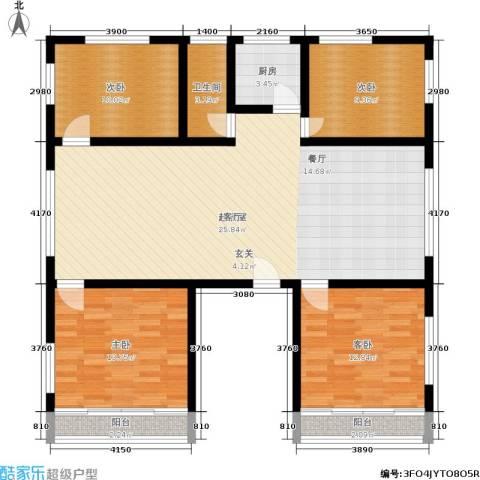 泰和苑4室0厅1卫1厨145.00㎡户型图