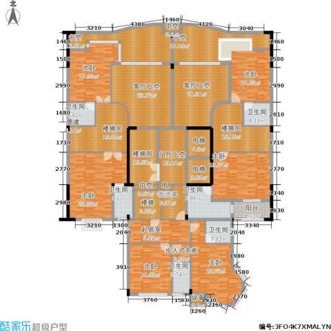 源昌鑫海湾6室0厅6卫0厨429.00㎡户型图