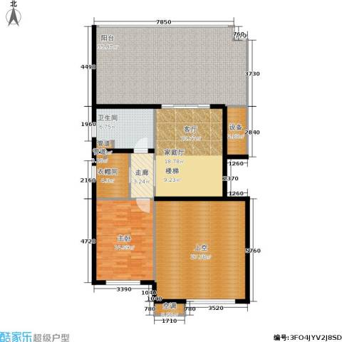 金地自在城1室0厅1卫0厨128.00㎡户型图