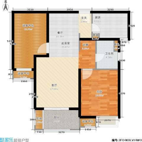 万科金色城市1室0厅1卫1厨112.00㎡户型图