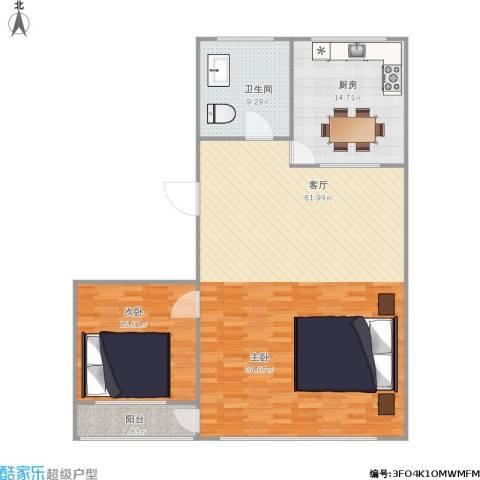 西文化小区1室1厅1卫1厨138.00㎡户型图