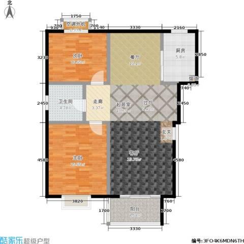 自然居家园2室0厅1卫1厨93.22㎡户型图