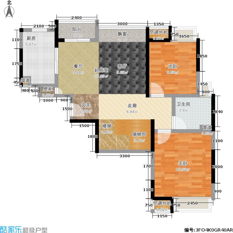 中兴和园141.37㎡F5面积14137m户型