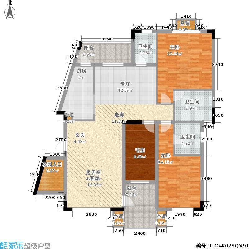大运家园4栋C座户型
