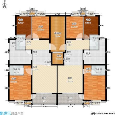 东山墅6室0厅4卫2厨221.69㎡户型图