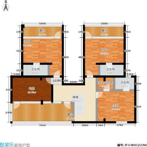 共和世家4室0厅3卫0厨150.00㎡户型图