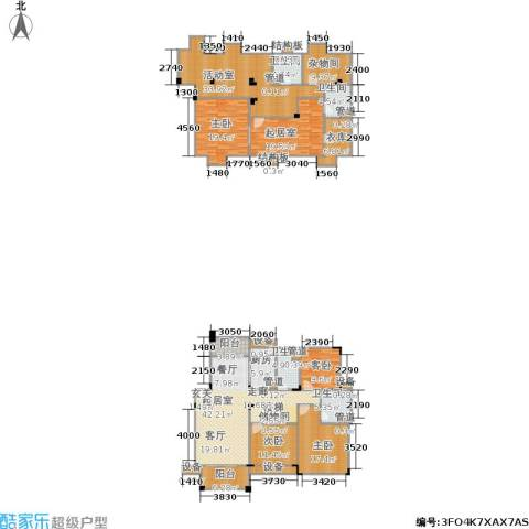 绿城桂花城4室0厅4卫1厨247.00㎡户型图