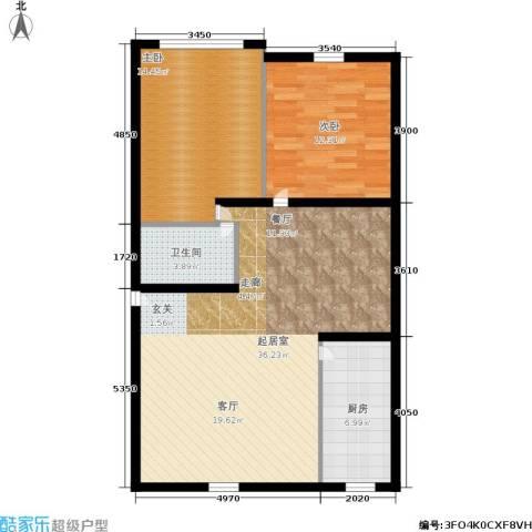 静安花园2室0厅1卫1厨82.00㎡户型图