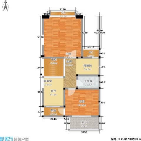 海上普罗旺斯2室0厅1卫0厨106.00㎡户型图