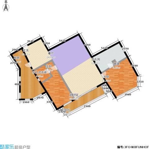 汇欣公寓2室0厅1卫1厨164.00㎡户型图