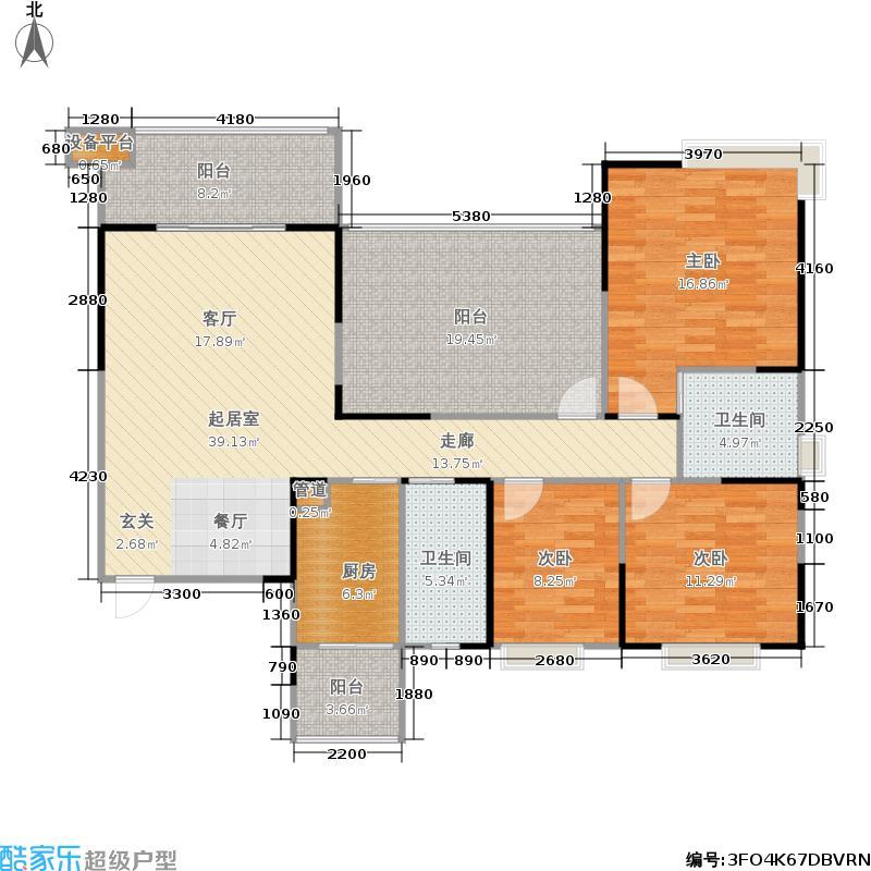 慕和南道135.37㎡慕和南道户型图二期天堂岛11幢建面135.37平米户型3室2厅2卫赠送21.72平米(6/23张)户型10室