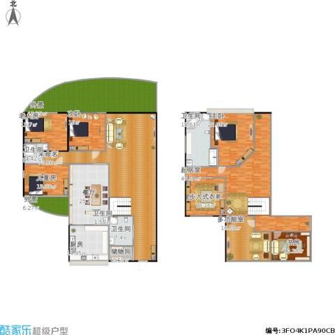 广顺现代城5室1厅3卫1厨470.00㎡户型图