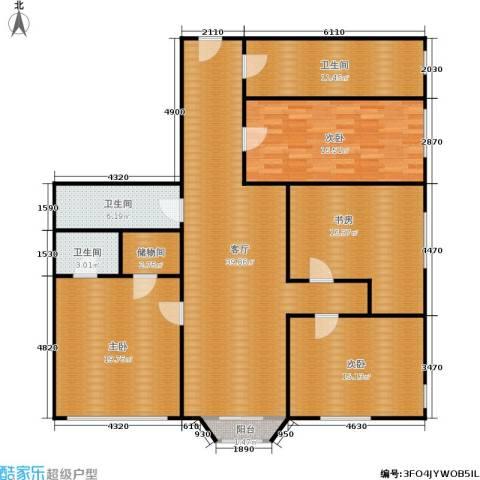 采荷人家4室1厅3卫0厨140.00㎡户型图