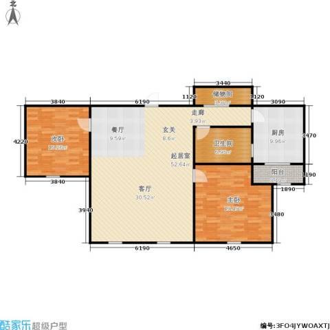 采荷人家2室0厅1卫1厨118.00㎡户型图