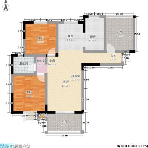 康城静林湾2室0厅1卫0厨113.00㎡户型图