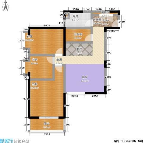 泰华世纪新城3室0厅1卫1厨101.00㎡户型图