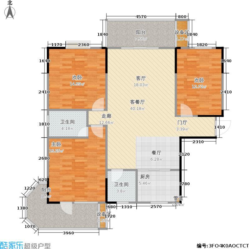 鑫天山城明珠13栋A3-户型