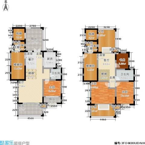 香克林小镇4室0厅2卫1厨185.73㎡户型图