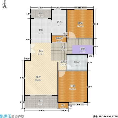 明城玫瑰园1卫1厨150.00㎡户型图