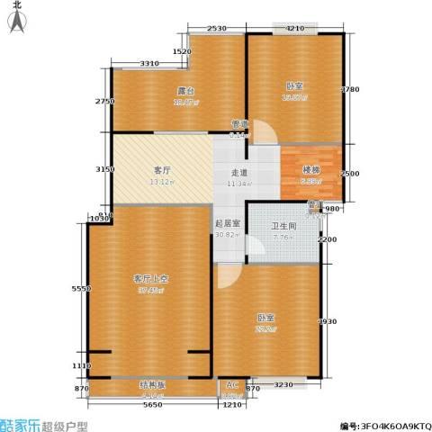 明城玫瑰园1卫0厨150.00㎡户型图