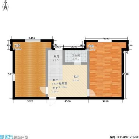 孩儿巷2室0厅1卫0厨72.00㎡户型图