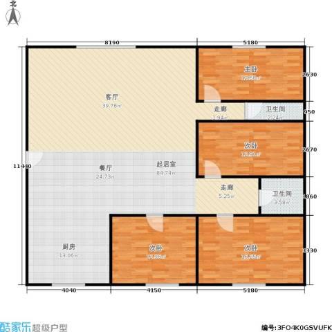 景芳六区4室0厅2卫0厨153.00㎡户型图