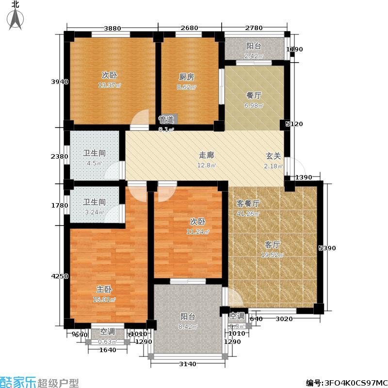 嘉南公寓125.00㎡面积12500m户型