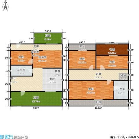湖滨花园5室0厅2卫0厨230.00㎡户型图