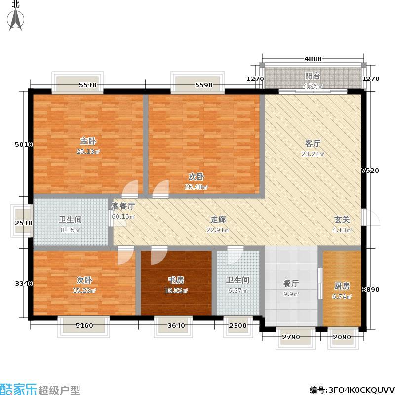 水木清华公寓181.00㎡面积18100m户型