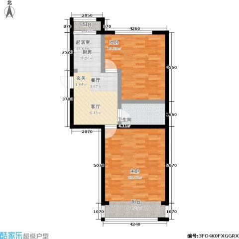 孩儿巷2室0厅1卫0厨67.00㎡户型图