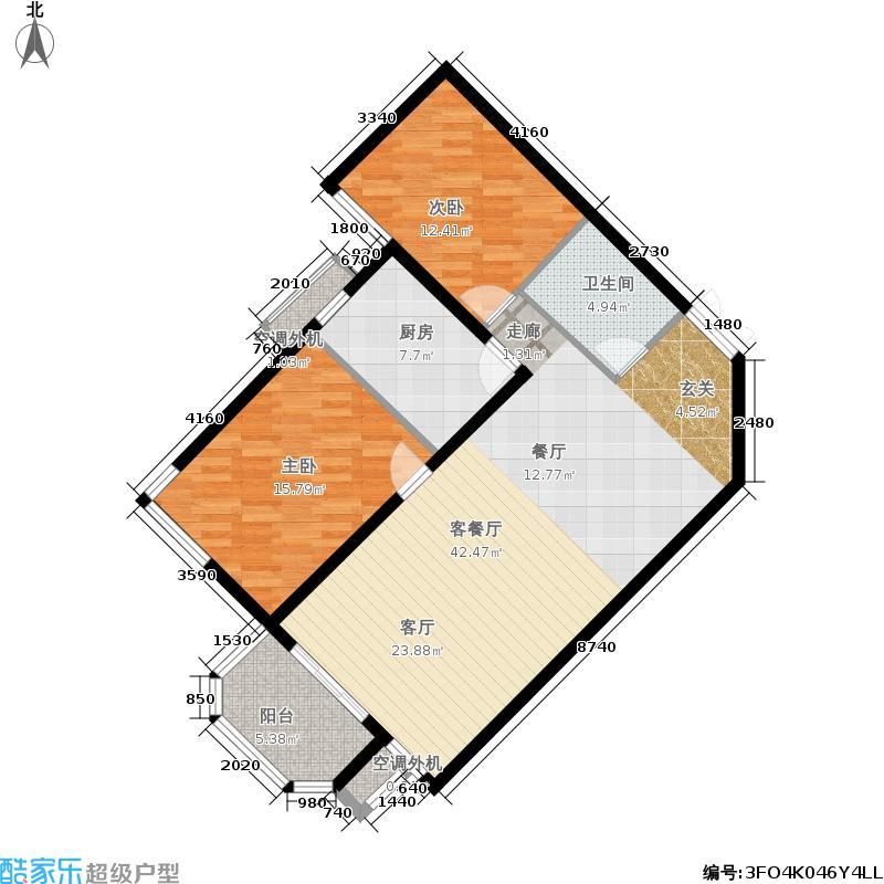 世纪城垂虹园户型
