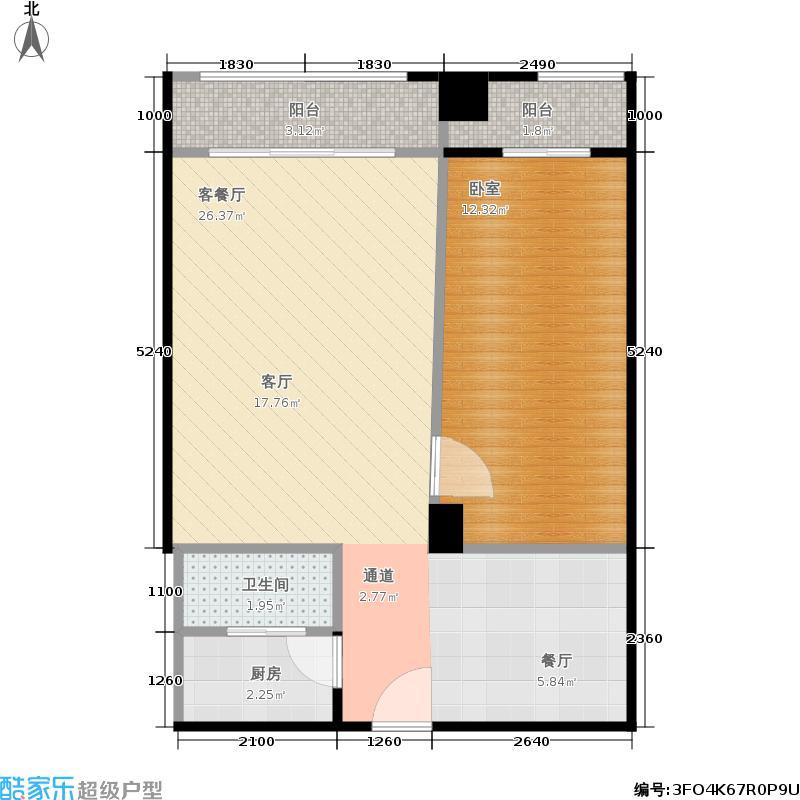 澳门街住宅南宁澳门街户型图(8/9张)户型10室